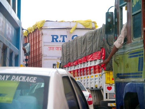 Out Of Delhi Traffic